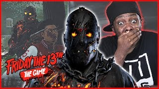 HAHA! WE RAN HIM OVER TRYING TO ESCAPE! - Friday The 13th Gameplay Ep.16
