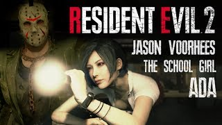 Resident Evil 2 Remake Ada The School Girl Jason Voorhees