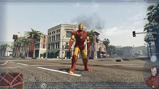 Khám phá thế giới GTA 5 #7 - Biến hình Iron Man bay khỏi bản đồ GTA 5