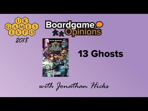 Boardgame Opinions: 13 Ghosts