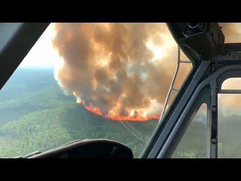 العرب اليوم - شاهد: حجم الدمار الذي خلفته حرائق الغابات اليومية في