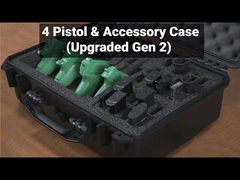 4 Pistol & Accessory Case (Gen-2) - Featured Youtube Video
