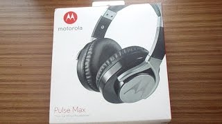 Motorola Pulse Max Headset - Unboxing and Review