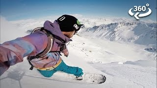 Experience Living Off-Grid with Snowboarder Mike Basich