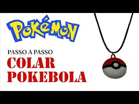 Como fazer um colar Pokébola (Pokémon Go)