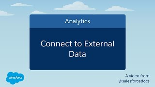 How to Connect to External Data | Salesforce
