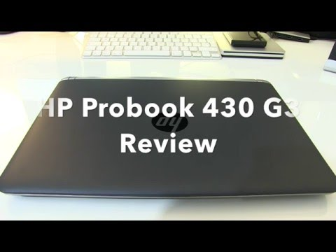 HP Probook 430 G3 Laptop unboxing and Review