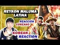 🔥(ENG)/ KOREAN Rappers / react to REYKON - LATINA ft. MALUMA 💧💧