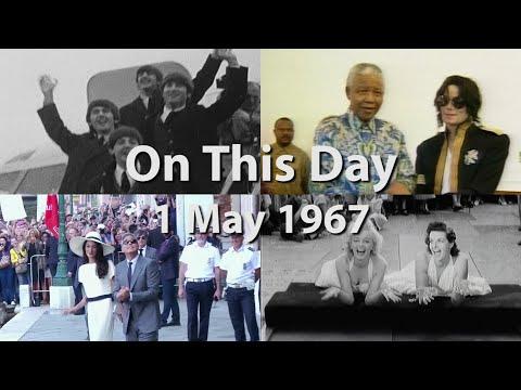 Elvis Presley married Priscilla Beaulieu in Las Vegas. (May 1)