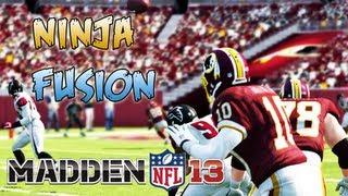 Madden 13 - Robert Griffin III Unbelievable believable Ninja Fusion! Madden - Online Ranked Match