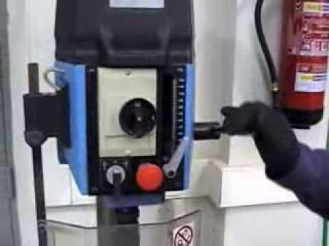 V5 máquinas de taller: taladro de columna