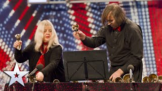 Unforgettable Audition: Gay and Alan ring our bells with Titanic tune! | Britain's Got Talent
