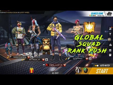 Free Fire Live Hindi [FF Live] - Rank Rush Gameplay