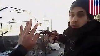 Убийство полицейского осталось на записи его собственной камеры