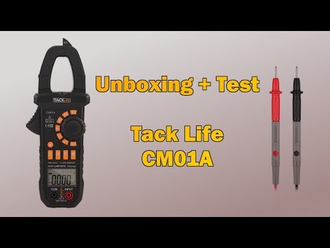 Unboxing - TackLife CM01A + Test