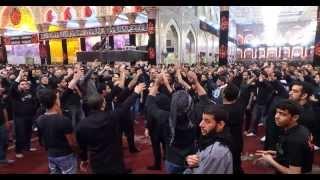 خدام الزهراء عليها السلام في الاربعين 1435 هـ في حرم الامام الحسين عليه السلام
