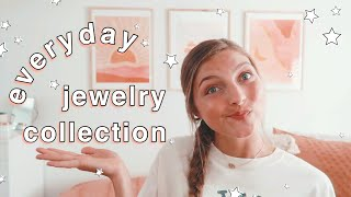 EVERYDAY JEWELRY COLLECTION   Dainty Gold Necklaces, Rings, Bracelets, Earrings