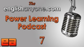 The Power Learning Podcast - 7 - The Practice Gap - Learn Advanced English Podcast