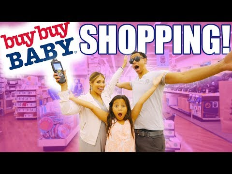 OUR HUGE BABY SHOPPING HAUL!! GETTING READY FOR BABY GIRL!