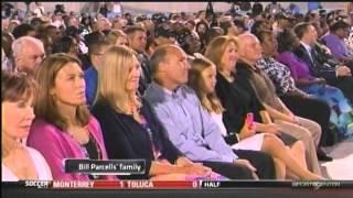 Bill Parcells Hall of Fame Enshrinement Speech