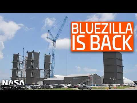 SpaceX Boca Chica – SN5 Pre-150m Hop – Bluezilla is Back