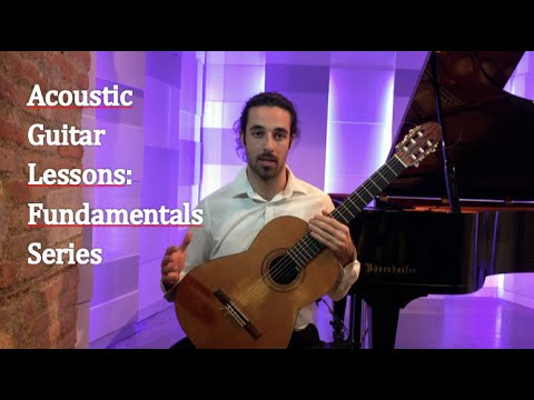 Acoustic Guitar Lessons - Fundamentals Series #1 - Learn To Play Guitar Online