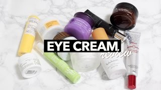 $500 Worth Of Eye Cream: Which One Is The Best?