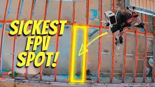 The Sickest FPV Spot! / FPV Freestyle