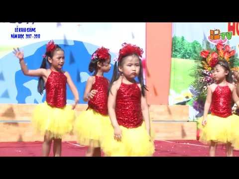 Màn hát múa: Con chim Vành Khuyên - Mẹ ơi tại sao - Em yêu trường em - BGS (2017 - 2018)