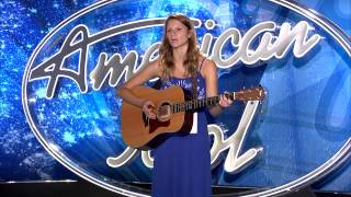"American Idol Audition - Joni Mitchell's ""A Case of You"" cover by Stephanie Gummelt"