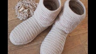 Crochet Patterns| For Free |crochet Shoes| 1374