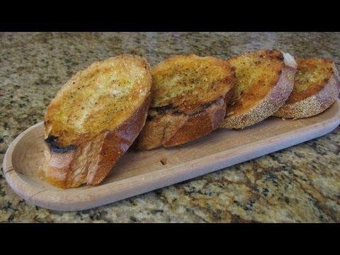 Πως να φτιάξετε ψητό ψωμί