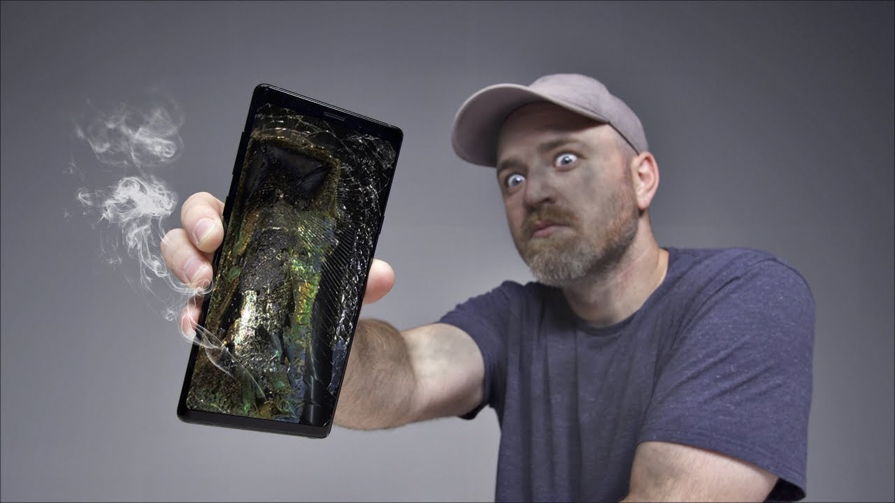 A Galaxy Note 9 Has Allegedly Exploded... thumbnail