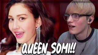 SOMI (전소미) - 'BIRTHDAY' M/V REACTION!! (QUEEN SOMI)