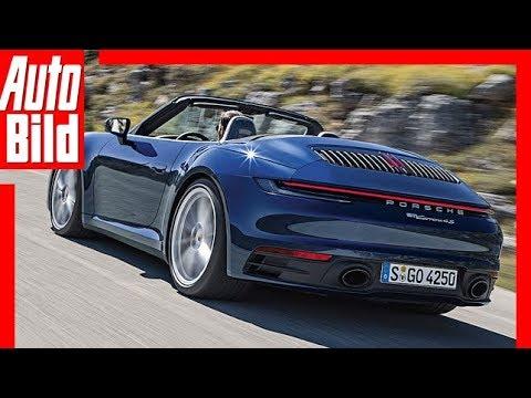 Porsche 911/992 Cabrio (2019) Erste Bilder / Erklärung / Details
