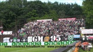 preview picture of video 'Debrecen  Ferencváros  2-3  szurkolás  2013 05 26'