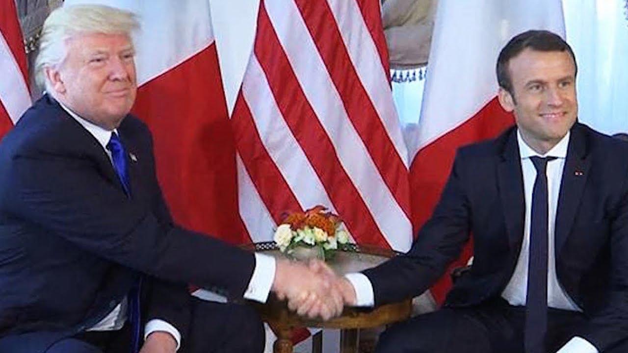 Watch Trump Try His Big Dumb Handshake On Macron (VIDEO) thumbnail