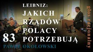 83 Bogusław Wolniewicz przedstawia Pawła Okołowskiego: JAKICH RZĄDÓW POLACY POTRZEBUJĄ