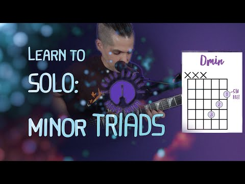 Here's one of my teaching video from my guitar channel on Youtube!  This video introduce the minor triad shapes on the guitar.