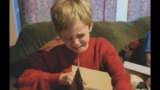 【クリスマス】任天堂スイッチをゲットして歓喜する子供たち 2017 Part2