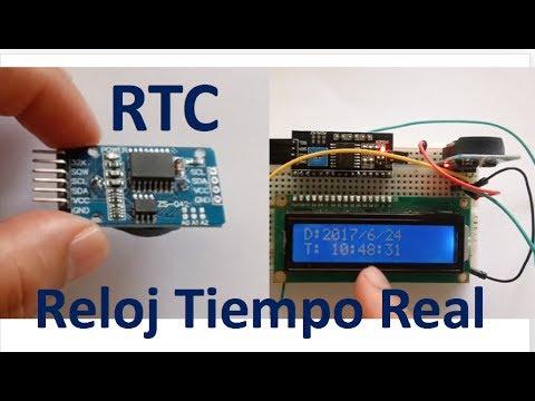 ✅ Que es un Reloj de Tiempo Real (RTC) como se usa?