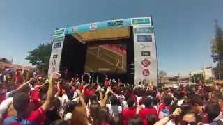 preview picture of video 'Gol de Costa Rica a Italia, celebracion en Parque Juan'