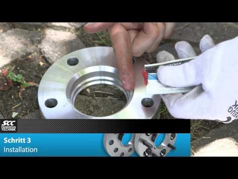 SCC Montageanleitung - Spurverbreiterung System 2