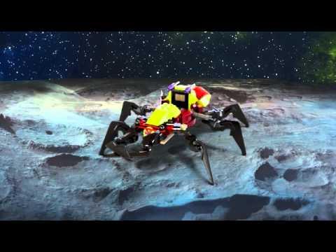 Vidéo LEGO Galaxy Squad 70706 : La capture de l'araignée