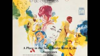 A Place in the Sun   Diana Ross & the Supremes Join the Temptations Together