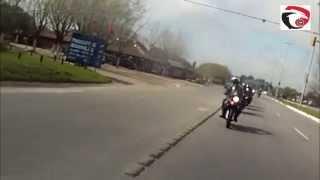 preview picture of video 'GRUPO GILERA SMX 400 C.C - MOTO ENCUENTRO DOLORES 2014'