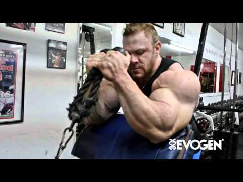 Justin Compton Mass Construction Preacher Hammer Curl With Rope