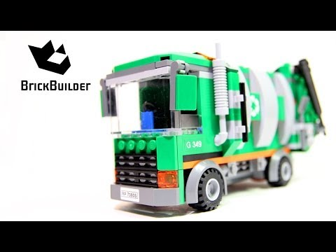 Vidéo LEGO The LEGO Movie 70805 : Le camion poubelle