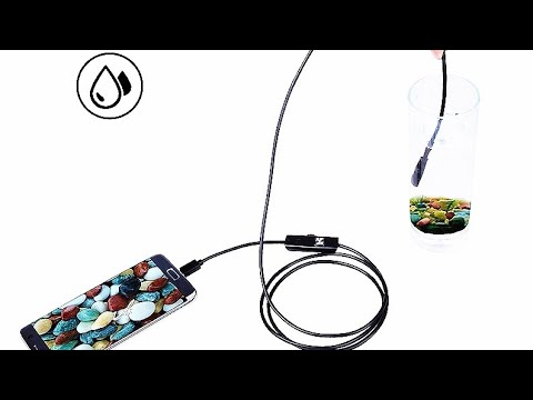 Водонепроницаемая USB камера эндоскоп / Waterproof USB endoscope camera