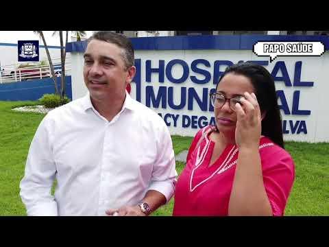Cirurgias eletivas no Hospital Municipal de Jaciara.